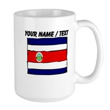 Custom Costa Rica Flag Mug
