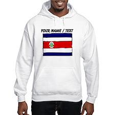 Custom Costa Rica Flag Hoodie