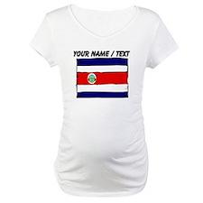 Custom Costa Rica Flag Shirt