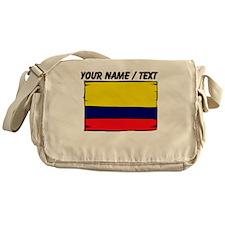 Custom Colombia Flag Messenger Bag