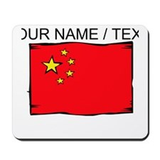 Custom China Flag Mousepad