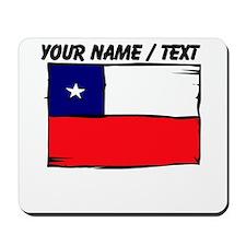 Custom Chile Flag Mousepad