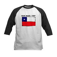 Custom Chile Flag Baseball Jersey
