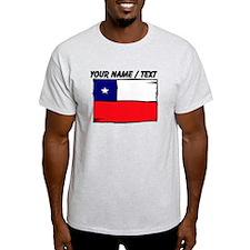 Custom Chile Flag T-Shirt