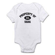 Property of Shana Infant Bodysuit