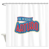 The Incredible Arturo Shower Curtain