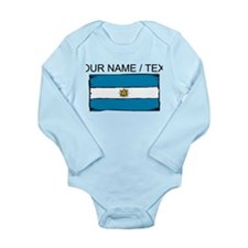 Custom Argentina Flag Body Suit