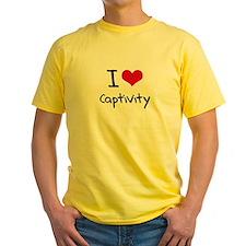 I love Captivity T-Shirt
