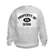 Property of Savana Sweatshirt