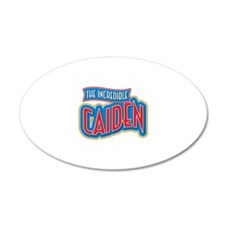 The Incredible Caiden Wall Decal