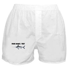 Custom Swordfish Boxer Shorts