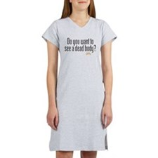 Dead Body Women's Nightshirt