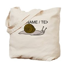 Custom Snail Tote Bag