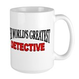 Private detective Large Mug (15 oz)