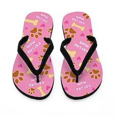 Rat-Cha Mom Gift Flip Flops