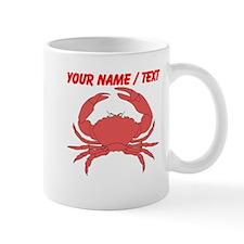 Custom Red Crab Small Mug