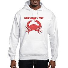 Custom Red Crab Hoodie