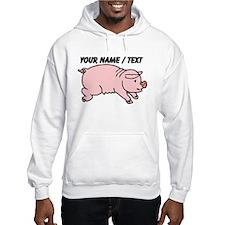 Custom Cartoon Pig Hoodie
