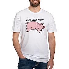 Custom Cartoon Pig T-Shirt