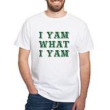Popeye Mens White T-shirts