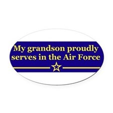 Cute Air force Oval Car Magnet