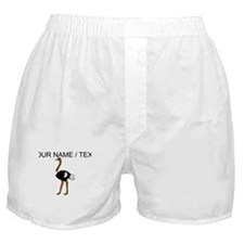 Custom Ostrich Boxer Shorts