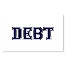 Debt Decal