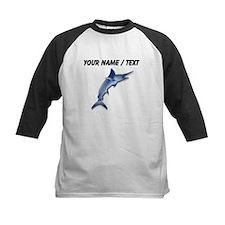 Custom Swordfish Baseball Jersey