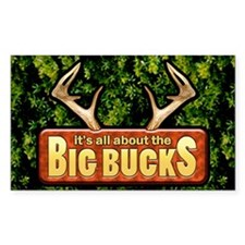 Big Bucks... Decal