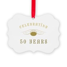 Celebrating 50 Years Of Marriage Ornament