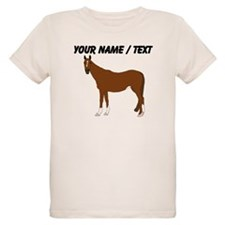 Custom Brown Horse T-Shirt