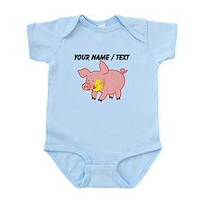 Custom Cartoon Pig Body Suit
