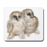Baby Owls Mousepad