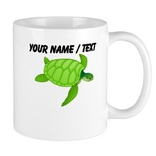 Custom Green Sea Turtle Mug
