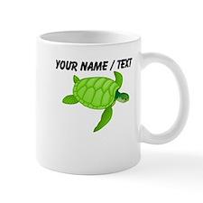 Custom Green Sea Turtle Small Mug