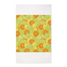 Citrus Benefits 3x5 Area Rug