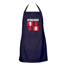 Established 1968 Apron (dark)