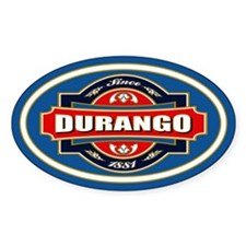 Durango Old Label Decal
