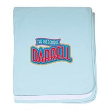 The Incredible Darrell baby blanket