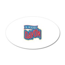 The Incredible Davon Wall Decal