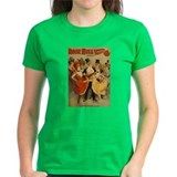Vintage Burlesque Antique Pos Tee