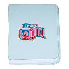 The Incredible Ezequiel baby blanket