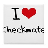 I love Checkmate Tile Coaster
