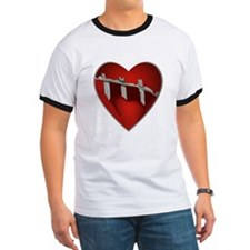 Broke, Screaming Caged Heart T