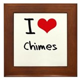 I love Chimes Framed Tile
