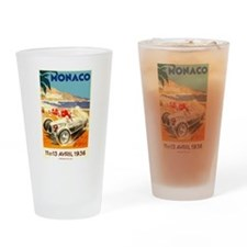 Antique 1936 Monaco Grand Prix Race Poster Drinkin
