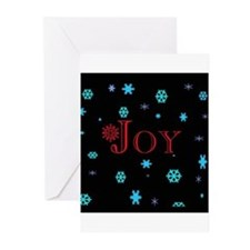 Joy Christmas Greeting Cards (Pk of 10)