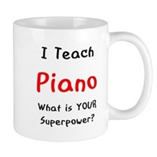 teach piano Mug