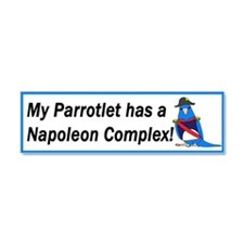Unique Parrotlet Car Magnet 10 x 3