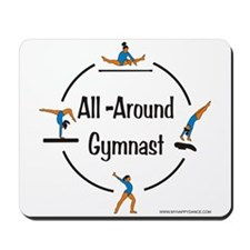 All Around Gymnast Mousepad